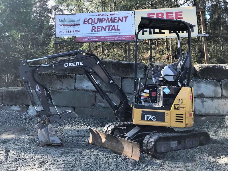 17G Mini Excavator