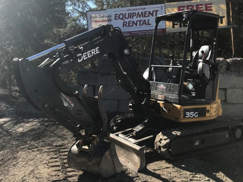 35G Mini Excavator